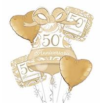50th Anniversary Balloon Bouquet