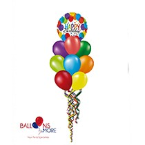 Happy Birthday Bash Balloons Bouquet